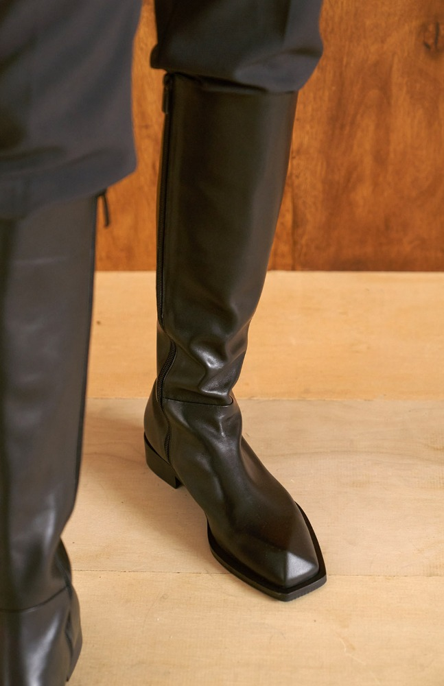 Amil long boots_Black